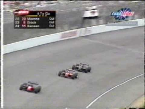 Juan Montoya vs. Michael Andretti CART at Michigan 2000