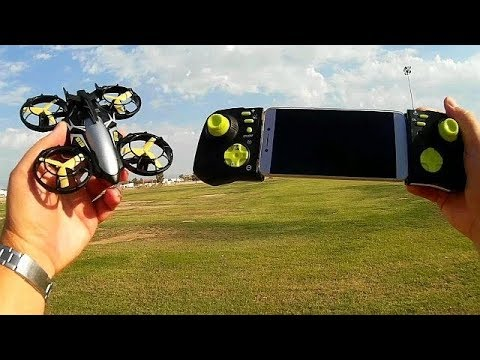 Flying3D FY919 Reaper Position Hold FPV Drone Flight Test Review