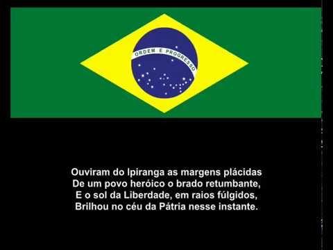 HINO NACIONAL BRASILEIRO - PLAY BACK