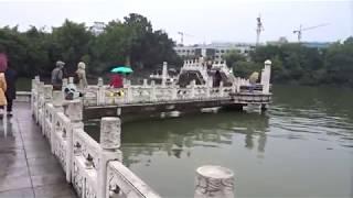 中国の旅 2018 桂林 榕湖 朝の散歩