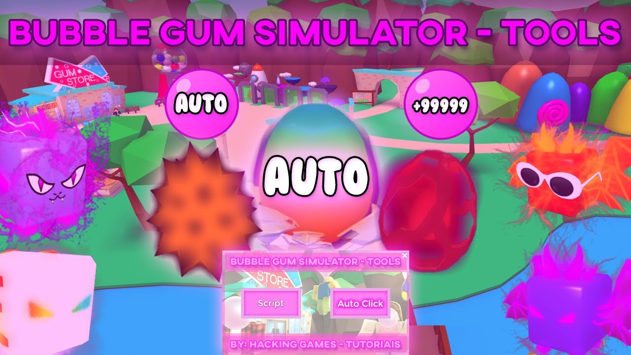 Bubble Gum Simulator Tools Fast Auto Eggs Hatcher Auto