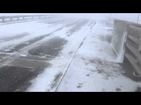 NB Storm March 26 - Shediac Foch Bridge