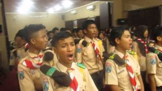 LATGAB SAGU 12-13 SEPTEMBER 2015 Indonesia Raya Song