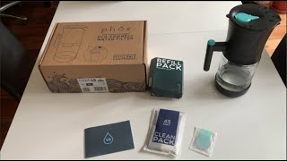 Phox water filter unboxing and review