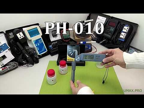 Обзор и калибровка рH-метра PH-010