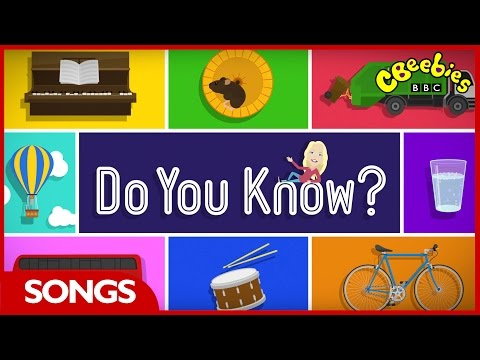 CBeebies Song | 'Do You Know?' Theme Tune