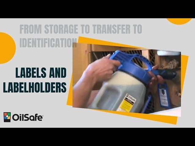 OilSafe Labels and Labelholders