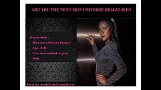 Casting Call Gets Underway of the Next Miss Universe Belize
