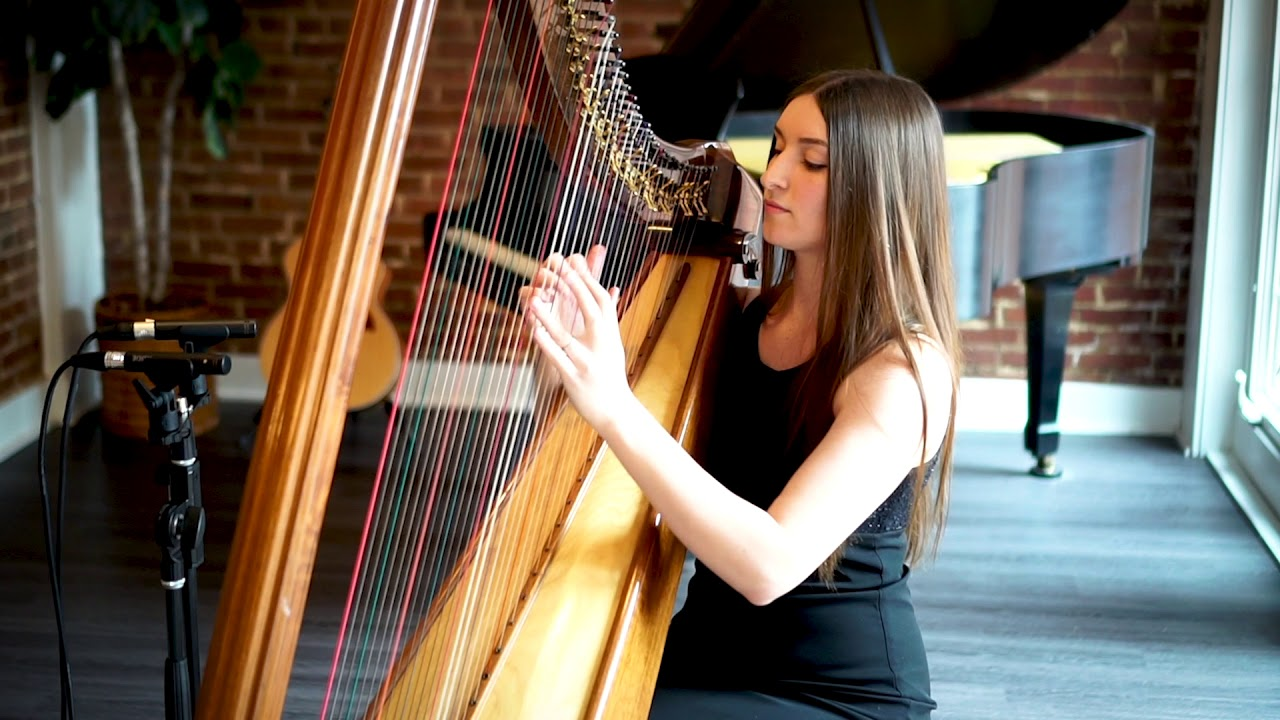 "Harpist - ""Here Comes the Sun"" 