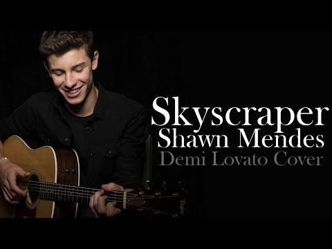 Skyscraper - Shawn Mendes (Lyrics Video)