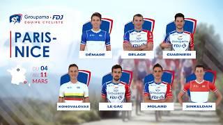 Paris-Nice 2018 : la bande-annonce de l'Équipe Cycliste Groupama-FDJ