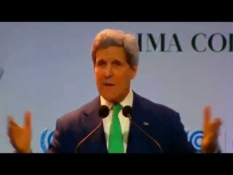 Secretary Kerry Delivers Remarks on Climate Change at the COP-20