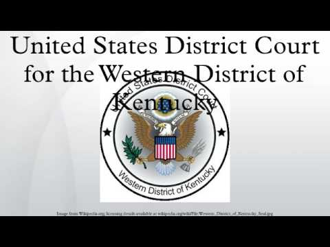 United States District Court for the Western District of Kentucky
