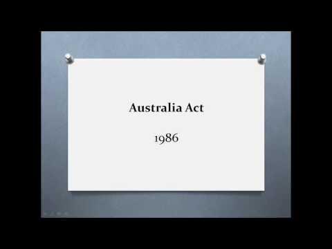 Legal history of Australia podcast