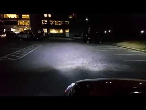 Sngl Super Bright Led Headlight 6000k 55w Test