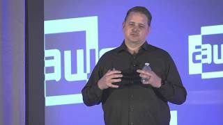 Gambar cover Brian Mullins (CEO, DAQRI) - The Future of Work at AWE 2015