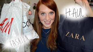 Winter Fashion Haul (Zara, H&M, Mango,Gina Tricot) + Gequatsche