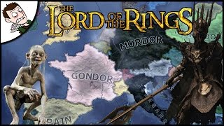 Mordor Will Reign Supreme! Lord of the Rings Mod - Hearts of Iron IV Gameplay!