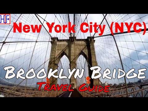 New York City (NYC) | Brooklyn Bridge | Tourist Attractions | Episode# 8