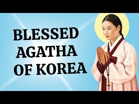 Blessed Agatha - Korean Martyr Aged 23