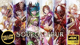 SOULCALIBUR VI All 20 Characters 4K Trailer Montage | Cervantes / Tira / Raphael / Voldo and more!