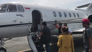 upiak tak pernah bermimpi bisa naik private jet