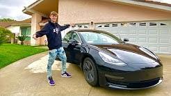 MY BRAND NEW CAR!! (I GOT A TESLA) | FaZe Blaze