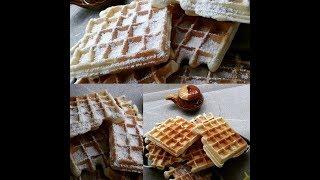 Кулинарный рецепт: Бельгийские вафли!!