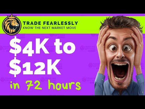 Trading Options Live: $4k to $12k in 72 Hours – TLRY revisited