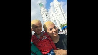 Indian Woman Headshave in Vellankani Temple as a Vow-Offering to Lord|All About Hair