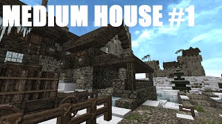 Minecraft: Frozen Island - Medium House #1