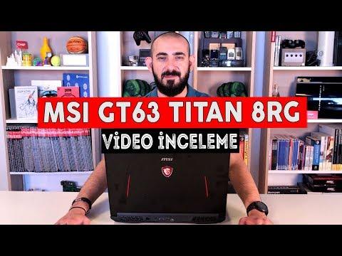 MSI GT63 TITAN 8RG İncelemesi - Oyuncu Notebook