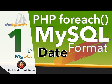 DATE-Datenbankspalten - MySQL Tutorial - PHP & MySQL lernen