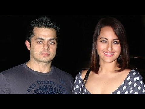BUSTED! Sonakshi Sinha's SECRET DATE with rumoured BF ...