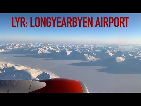 Spectacular Take Off From LYR Longyearbyen Airport, Svalbard