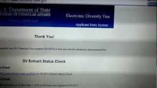 Як Перевірити результати Лотереї Грін Кард Green card