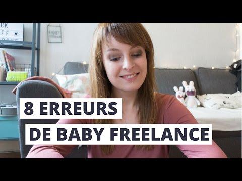 8 ERREURS DE BABY FREELANCE