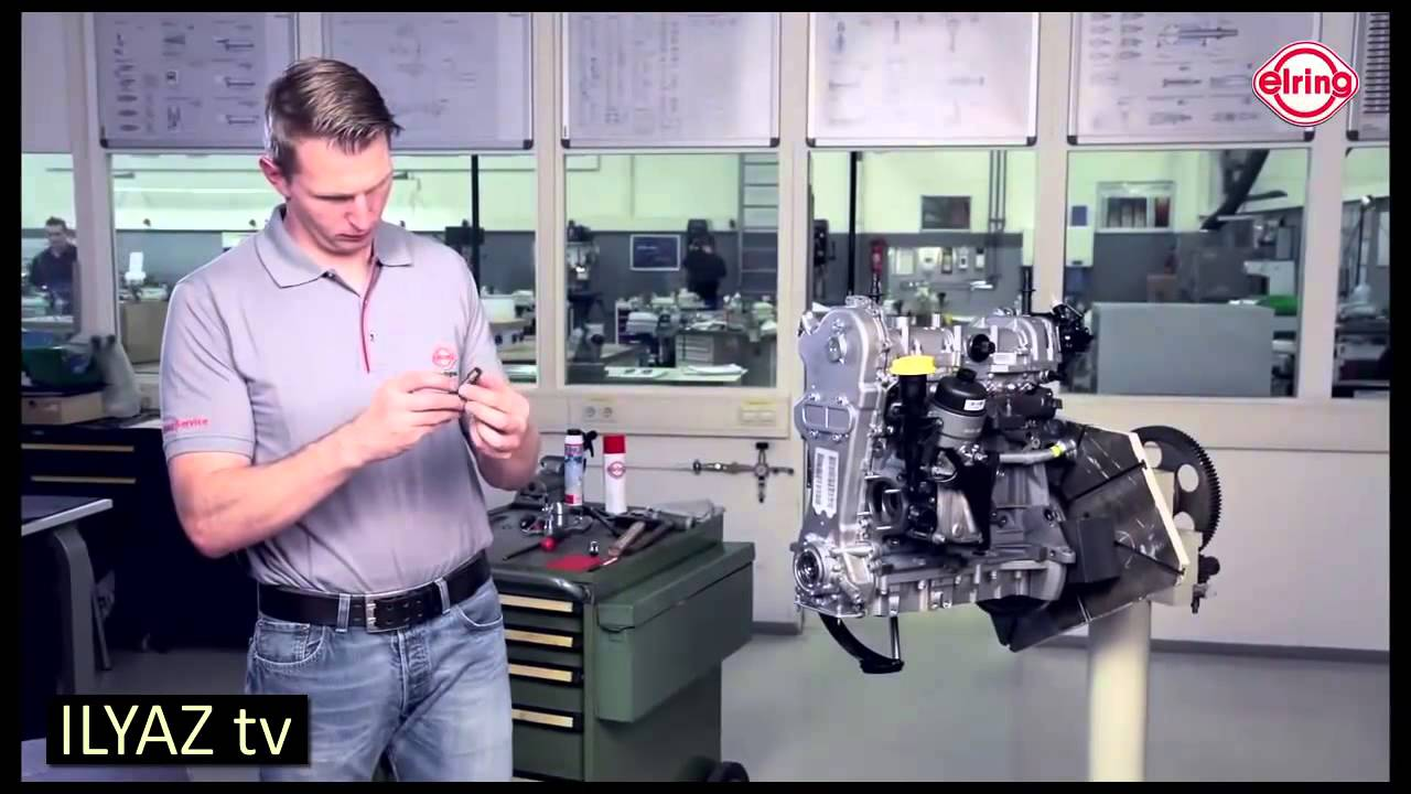 Timing Chain Replacement >> Opel Engine 1.3 CDTI - Timing cover gasket replacement ...