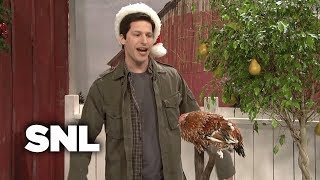 Mark Wahlberg Talks to Christmas Animals - SNL
