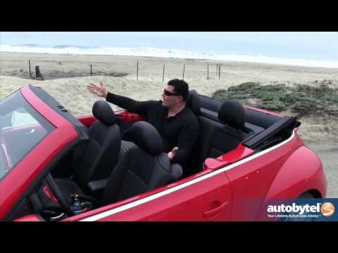 2013 Volkswagen Beetle TDI Cabriolet Test Drive & Convertible Car Video Review
