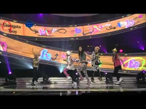 [Live] 110428 f(x) - Gangsta Boy & Pinochhio (Danger)