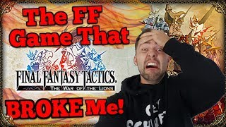 THEE most savage Final Fantasy ever!? - FF Tactics War Of The Lions (semi-review)