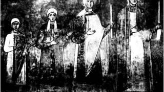 В Кикта Фрески Групповой портрет дочерей Я Мудрого