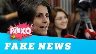 Manuela d'Ávila discute fake news e ofensas na internet