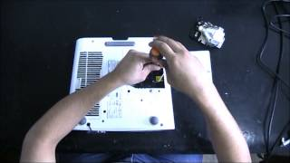Troca de lâmpada projetor Sony VPL-EX5