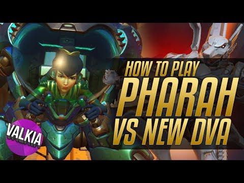 Guide: How to play Pharah vs New DVA! [Overwatch] || Valkia