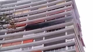 Incendio en una urbanización de Alicante. Abril de 2017.