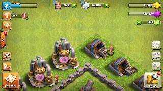 What do the villagers do behind bushes and trees? | Clash Of Clans