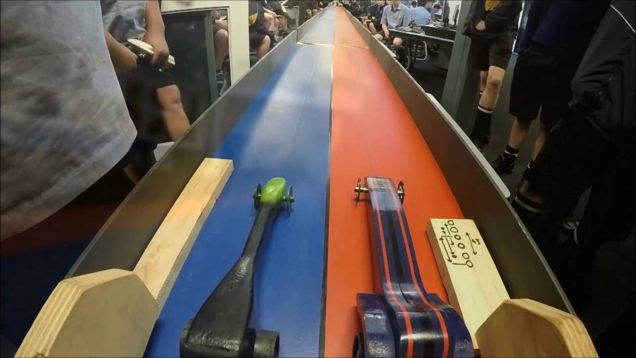 Super Fast C02 Dragster St John S College Gopro 1080p Youtube