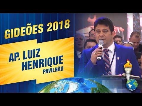 Gideões 2018  Ap Luiz Henrique